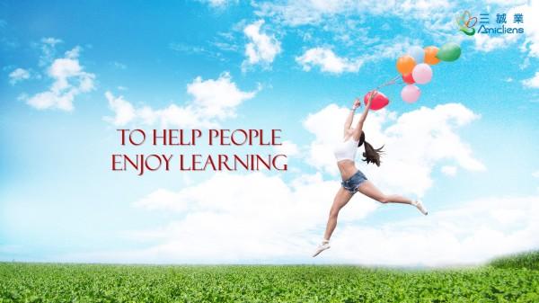 To Help People Enjoy Learning - logo