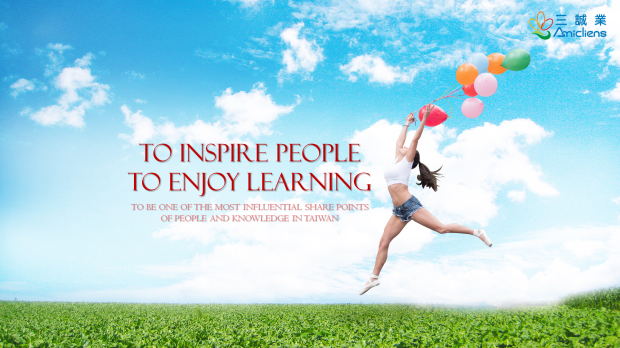 To Inspire People Enjoy Learning
