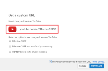 YouTube Custom Channel
