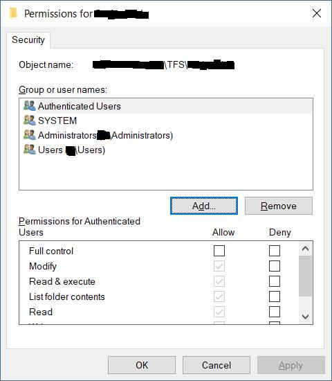 Local Repository_NTFS