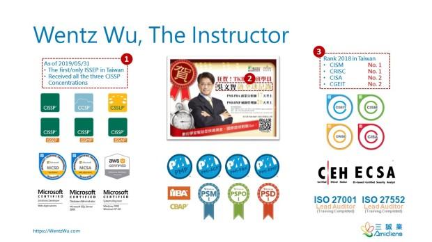Wentz Wu - The Instructor