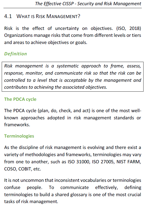 SRM - Risk Management